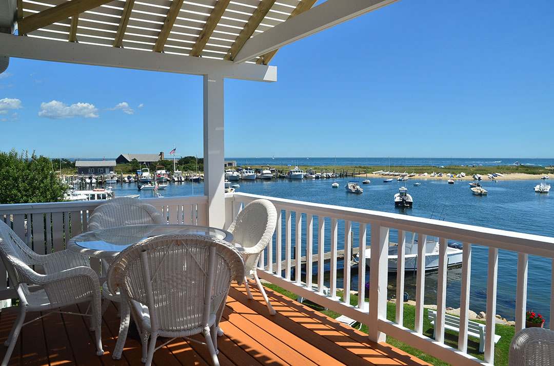Oak Bluffs water view vacation rental